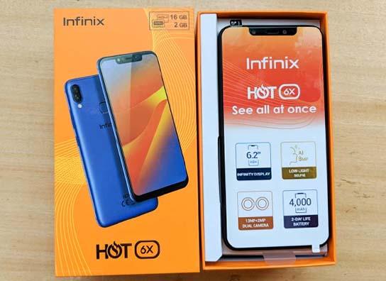موبايل Infinix Hot 6X