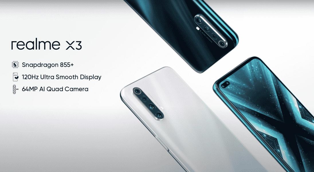 هاتف Realme X3