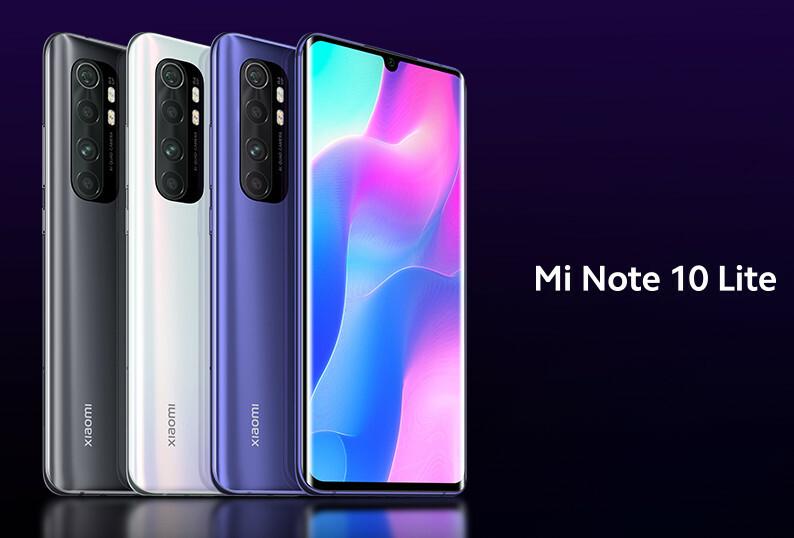 هاتف Mi Note 10 Lite