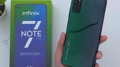 Photo of هاتف Infinix Note 7 Lite أول هاتف أنفينكس في الفئة المتوسطة بمساحة 128 جيجا بايت