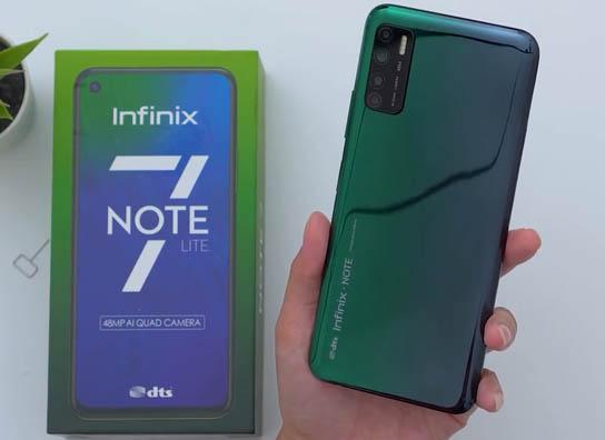 هاتف Infinix Note 7