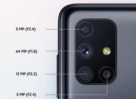 هاتف Samsung Galaxy M51