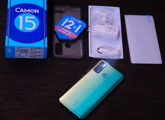 هاتف Tecno Camon 15