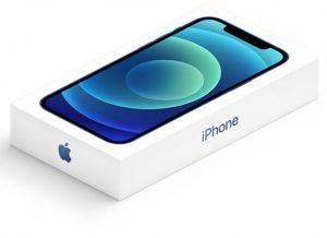 محتويات علبة iPhone 12 Mini