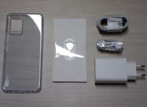 محتويات علبة Vivo V20