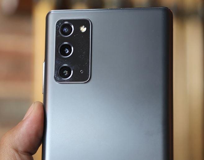 كاميرا موبايل Samsung Galaxy Note 20